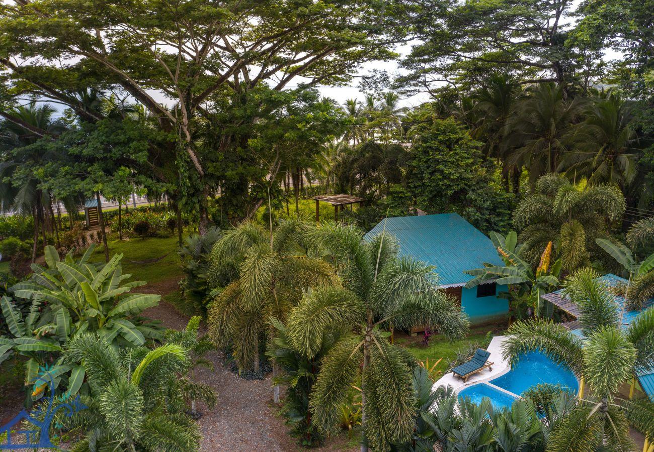Maison à Puerto Viejo - Beachfront Villa Seabreeze with AC & Pool