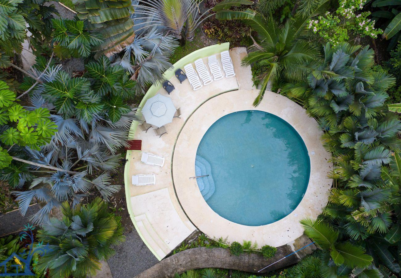 Villa in Cocles - Villa Rojiza: Luxury home with A/C, FibOp & Pool